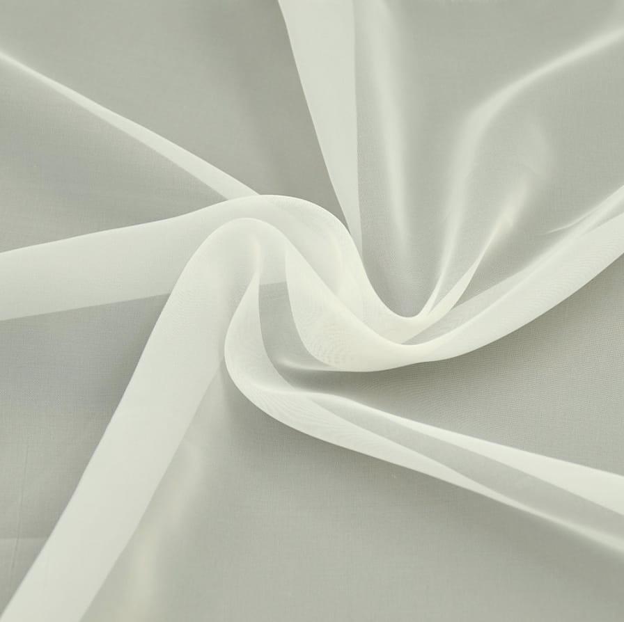 Woal gładki ecru / krem 300 cm tkanina woalowa