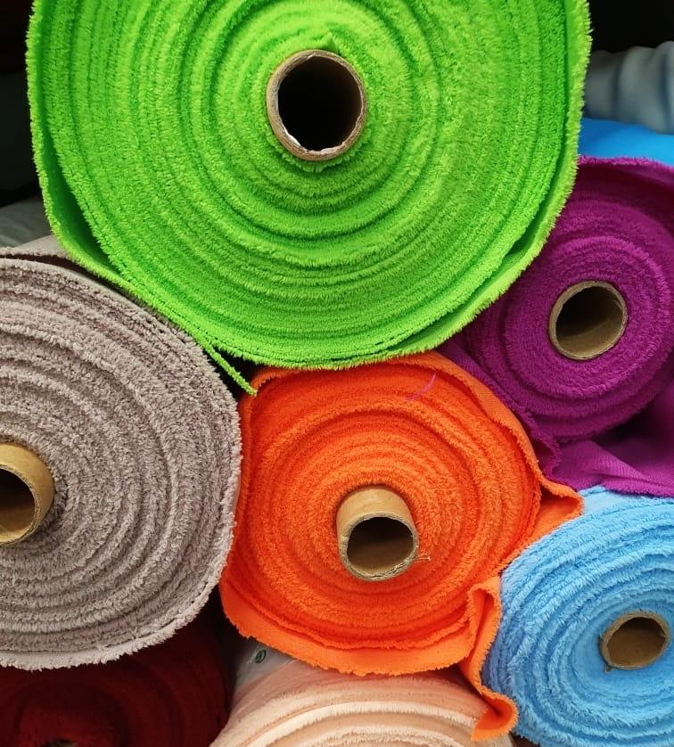 Tkanina na zasłony PANAMA 150 cm jakość premium 30 kolorów